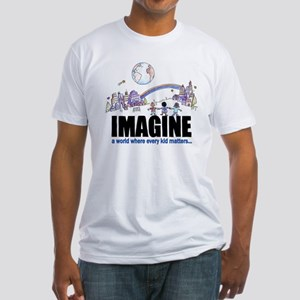 """""""Imagine"""" Fitted T-Shirt"""