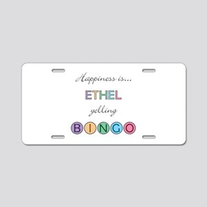 Ethel BINGO Aluminum License Plate