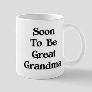 Soon To Be Great Grandma Mug