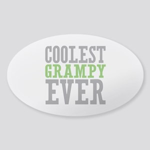 Coolest Grampy Sticker (Oval)