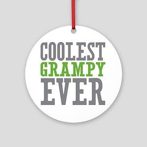 Coolest Grampy Ornament (Round)