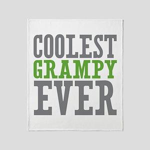 Coolest Grampy Throw Blanket