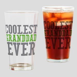 Coolest Granddad Drinking Glass