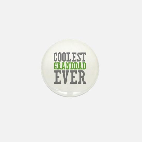 Coolest Granddad Mini Button