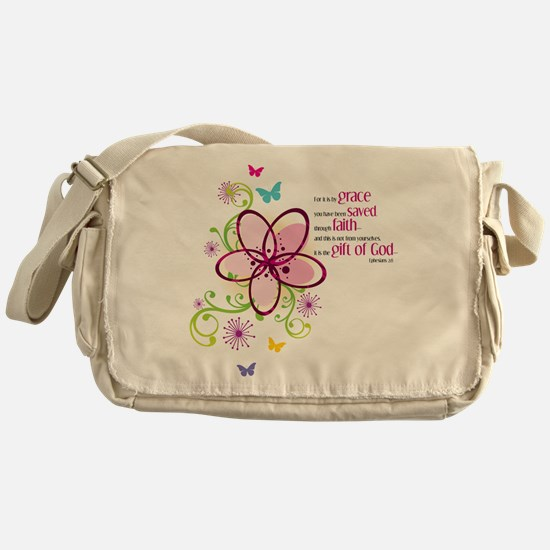 If we love one another Messenger Bag