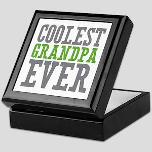 Coolest Granpda Keepsake Box