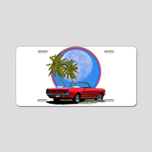 Mustang convertible Aluminum License Plate