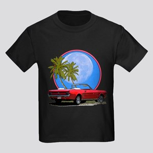 Mustang convertible Kids Dark T-Shirt