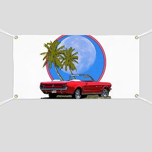 Mustang convertible Banner