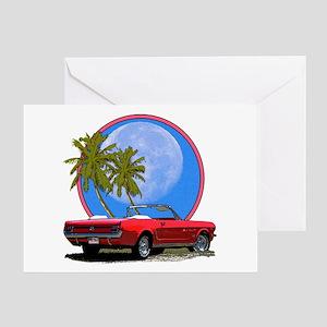 Mustang convertible Greeting Card