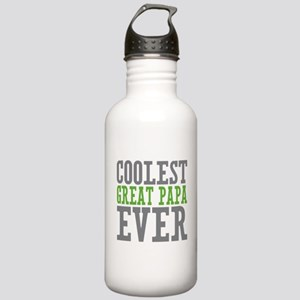 Coolest Great Papa Stainless Water Bottle 1.0L