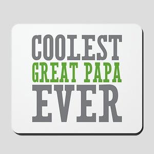 Coolest Great Papa Mousepad