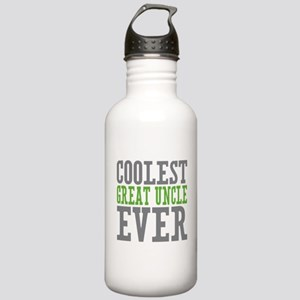 Coolest Great Uncle Stainless Water Bottle 1.0L