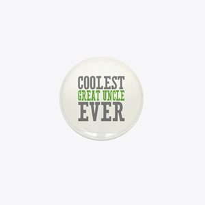 Coolest Great Uncle Mini Button