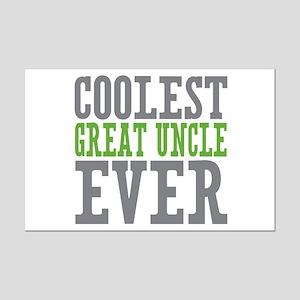 Coolest Great Uncle Mini Poster Print