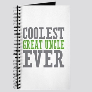 Coolest Great Uncle Journal
