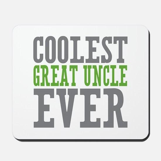 Coolest Great Uncle Mousepad