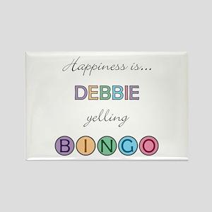 Debbie BINGO Rectangle Magnet