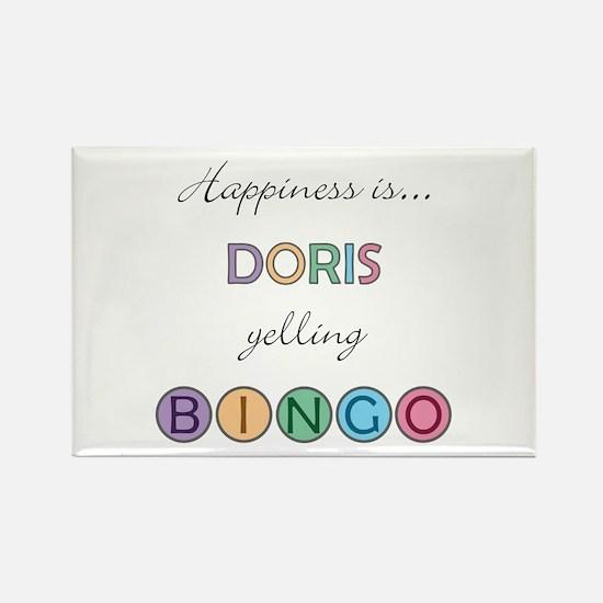 Doris BINGO Rectangle Magnet