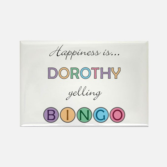 Dorothy BINGO Rectangle Magnet