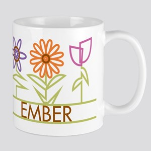 Ember with cute flowers Mug