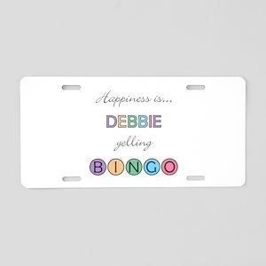 Debbie BINGO Aluminum License Plate