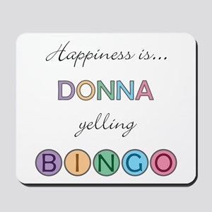 Donna BINGO Mousepad