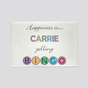 Carrie BINGO Rectangle Magnet