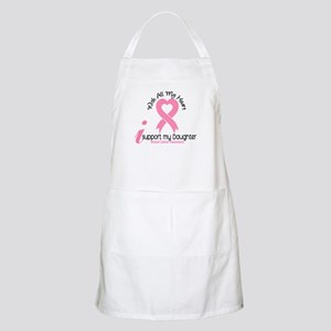 With All My Heart Breast Cancer Apron