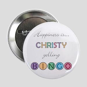 Christy BINGO Button