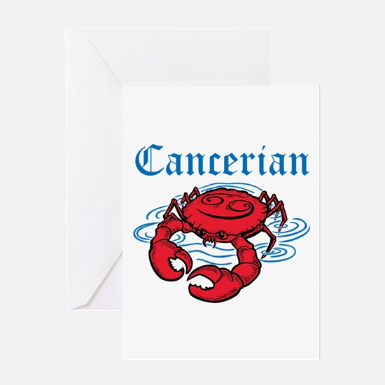 Cancerian Greeting Card