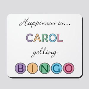 Carol BINGO Mousepad