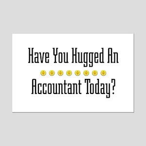 Hugged Accountant Mini Poster Print