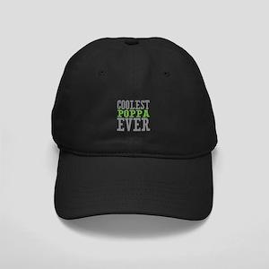Coolest Poppa Black Cap