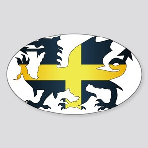 Welsh Dragon Saint David Flag Sticker