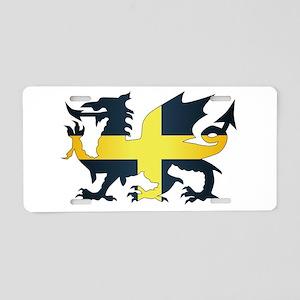 Welsh Dragon Saint David Fl Aluminum License Plate