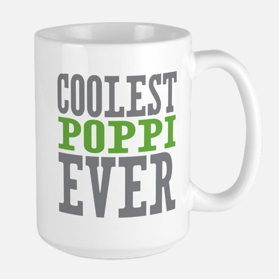 Coolest Poppi Large Mug