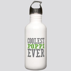 Coolest Poppi Stainless Water Bottle 1.0L