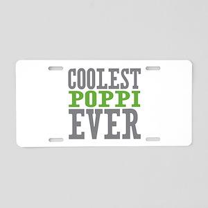 Coolest Poppi Aluminum License Plate