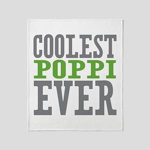 Coolest Poppi Throw Blanket