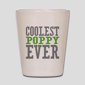 Coolest Poppy Shot Glass