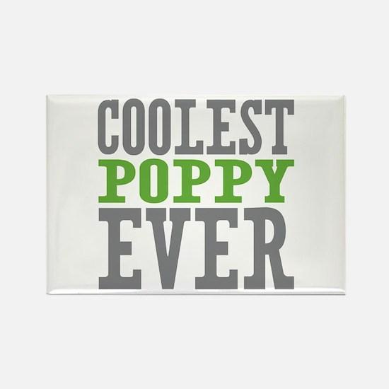 Coolest Poppy Rectangle Magnet