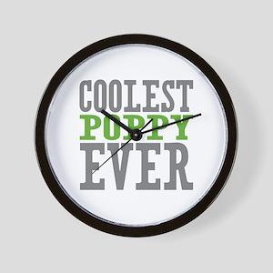 Coolest Poppy Wall Clock