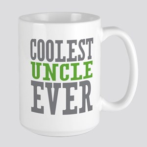Coolest Uncle Large Mug