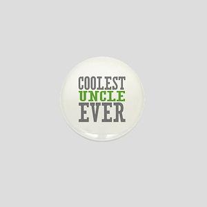 Coolest Uncle Mini Button