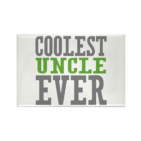 Coolest Uncle Rectangle Magnet