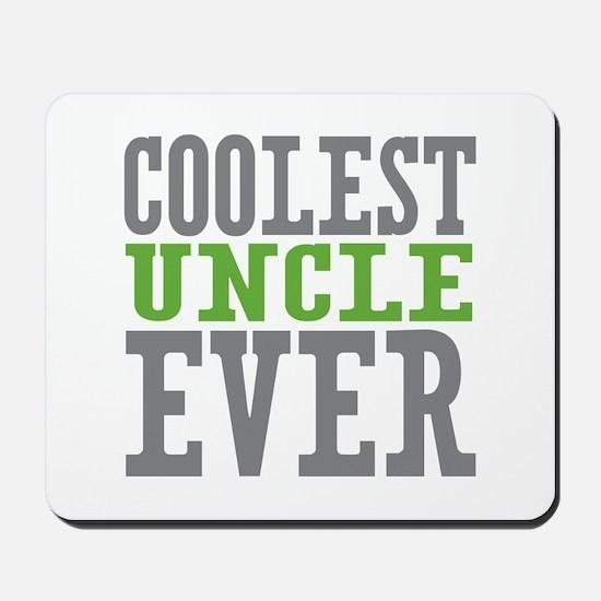 Coolest Uncle Mousepad