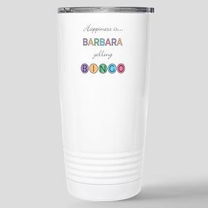 Barbara BINGO Stainless Steel Travel Mug
