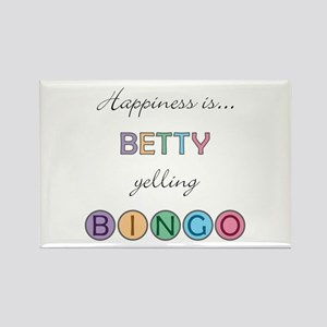 Betty BINGO Rectangle Magnet
