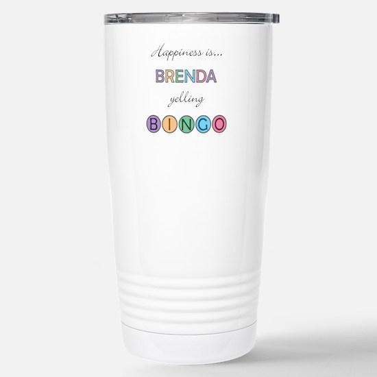 Brenda BINGO Stainless Steel Travel Mug
